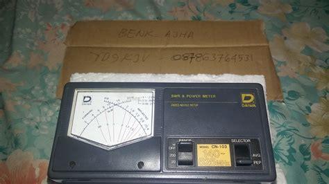Swr Antena Radio Rig Dan Ht Merk Maldol Hs 260s Murah Meriah Mewah swr power meter merk daiwa model cn 103 swaradio