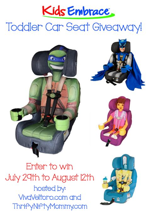 character car seats kidsembrace character toddler car seat giveaway 8 12
