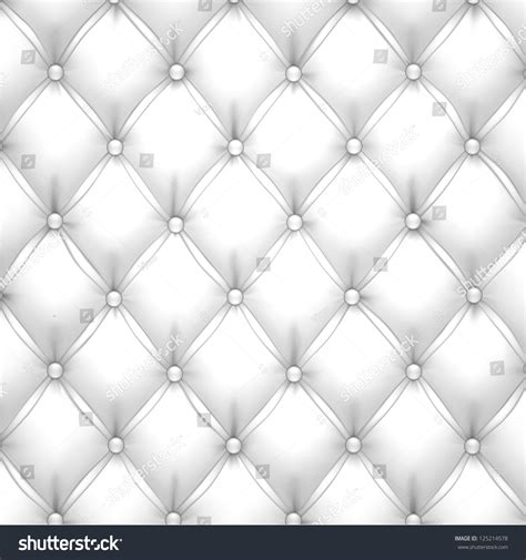 White Upholstery Leather by Vector Illustration White Realistic Upholstery Leather