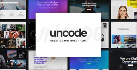 unique wordpress themes free download themeforest uncode v1 7 creative multiuse wordpress