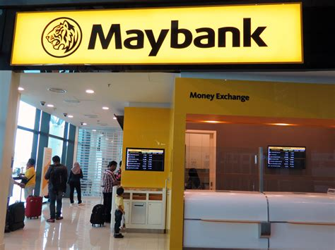 may bank banks and currency exchange counters at klia2 malaysia