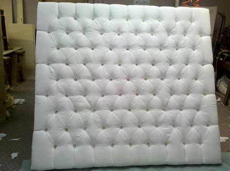 White King Size Upholstered Headboard King Size Tufted Upholstered Headboard With White