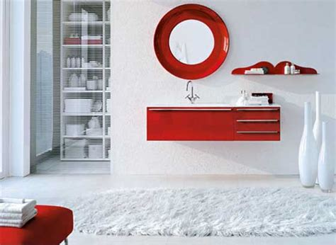 red white bathroom red and white bathroom design