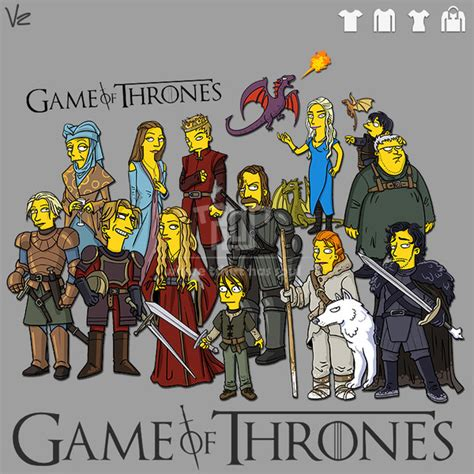 Simpsons Of Thrones by Of Thrones