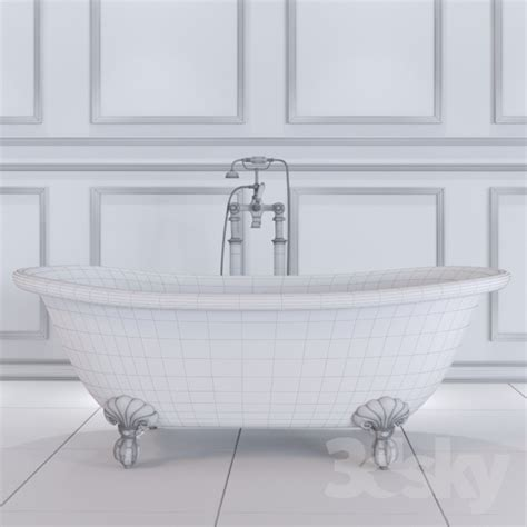 bathtub effect 3d models bathtub bath admiral copper effect