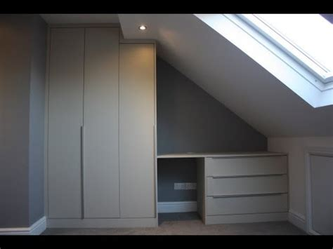 How Much Do Fitted Wardrobes Cost by Fitted Wardrobe Built In Sloping Loft Bedroom