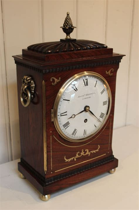antiques atlas small regency bracket clock