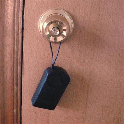Wireless Door Knob by New Wireless Touch Door Knob Entry Alarm Security Hanger