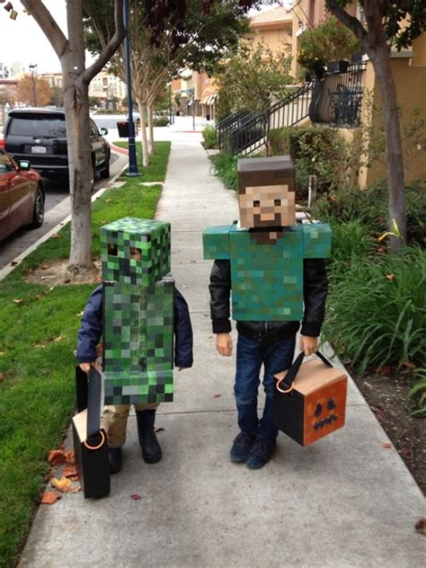 Handmade Costumes For - handmade minecraft costumes for this year