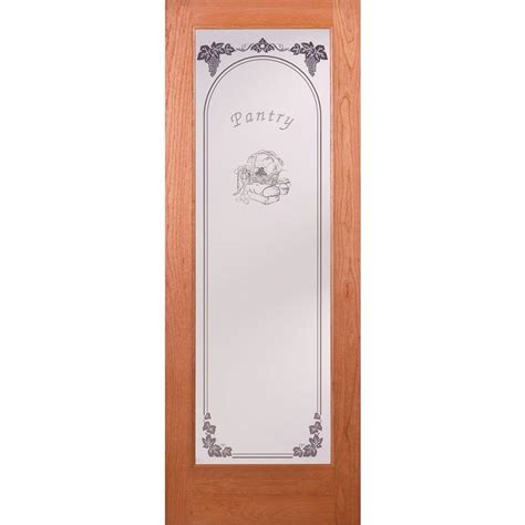 feather river doors      pantry woodgrain