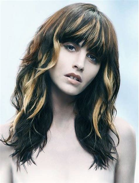 hairstyles with brown hair and blonde highlights brown hair with blonde highlights tumblr inofashionstyle com