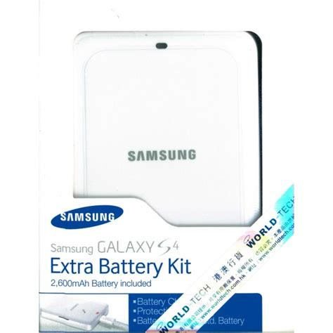 Battery Charger Kit Du Can 05 genuine samsung eb k600bew 2600mah battery charging kit galaxy s4 iv i9500 ebay