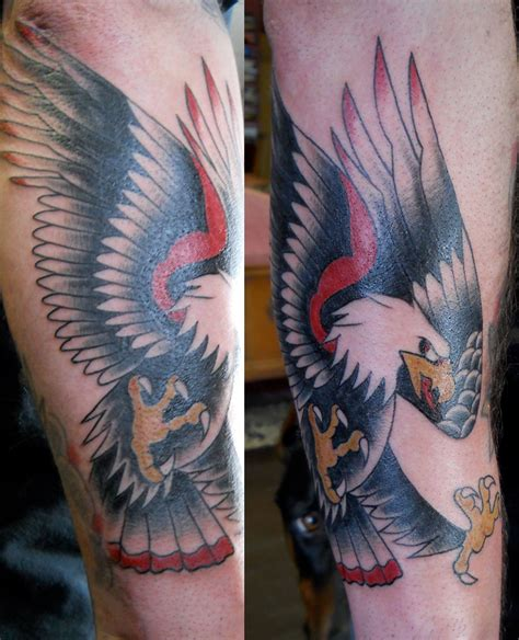 eagle arm tattoos traditional eagle arm tattoos search tatt ideas