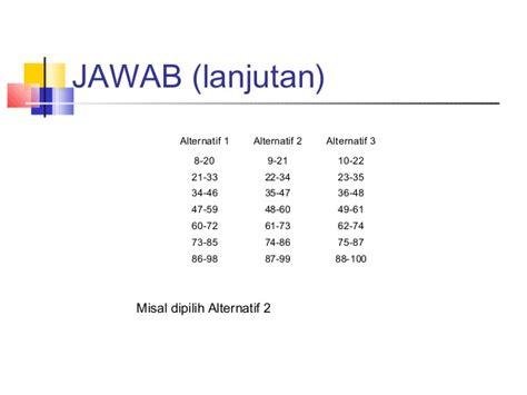 statistika tabel distribusi frekuensi statistika tabel distribusi frekuensi