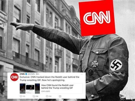 Cnn Meme - cnn blackmails redditor memes jokes gifs