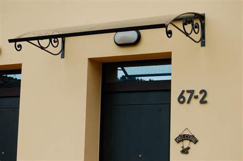 tettoia in ferro e policarbonato tettoia in ferro battuto e policarbonato metallica srl