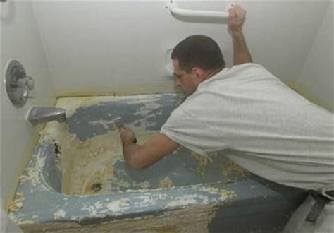 Can I Paint A Bathtub by Pros And Cons Of Replacing Restoring Or Relining Your