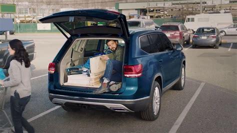 volkswagen atlas trunk 2018 volkswagen atlas suv folding seats and cargo space