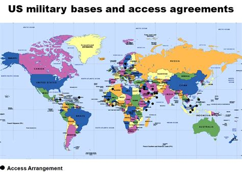 map us bases 2 world map showing countries with us bases access