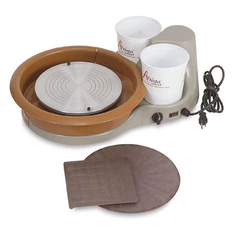 pottery wheel speedball artista potter s ceramic clay portable tabletop