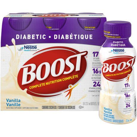 5w supplement boost 174 diabetic vanilla nutritional supplement drink