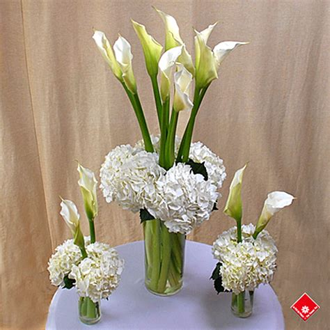 Tall Vase For Wedding Centerpiece Fresh Cut Lilies For Montreal Party Decoration The