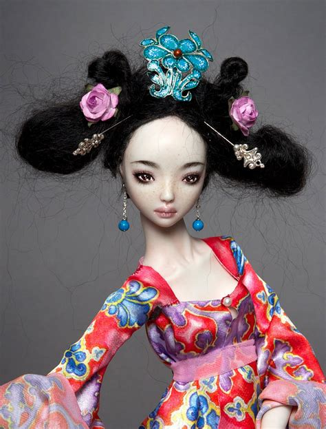 Handcrafted Porcelain Doll - loo s cannon handcrafted porcelain dolls by marina bychkova