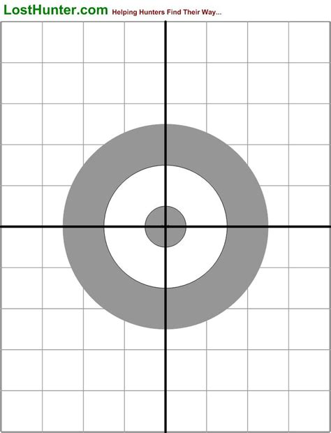 printable free rifle targets printable shooting targets image search results
