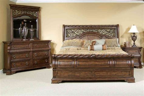 bed furniture sets cherry wood bedroom furniture raya sets pics solid king