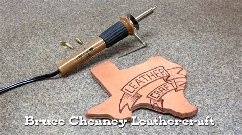 leather burning tutorial  beginners pyrography