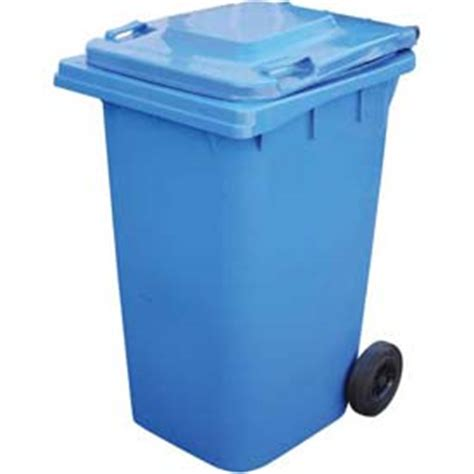 64 gallon trash can garbage can recycling mobile vestil mobile trash can th 64 64 gallon blue 260806bl