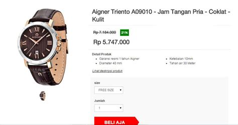 Harga Termurah Simbol buy new arrival etienne aigner watches series 100 original 2yr warranty deals for only