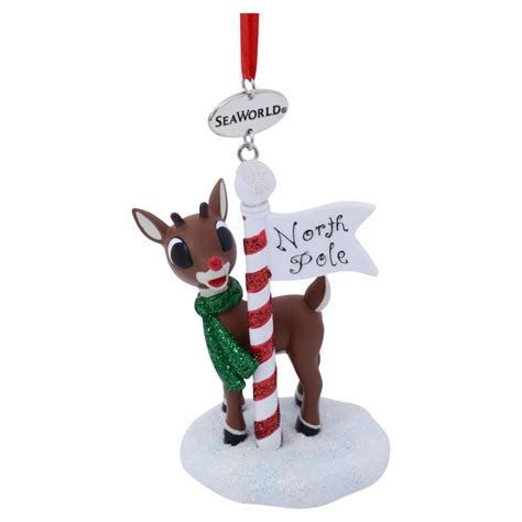 your wdw store seaworld christmas ornament rudolph at