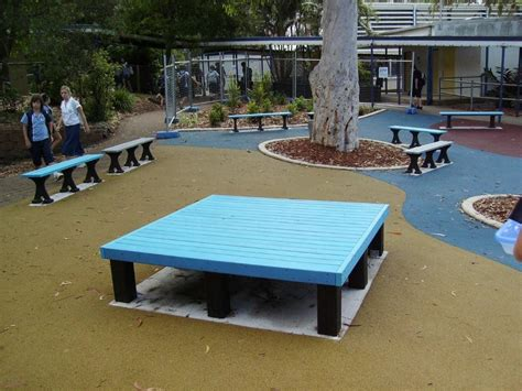 big bench furniture replas recycled plastic product for outdoor use