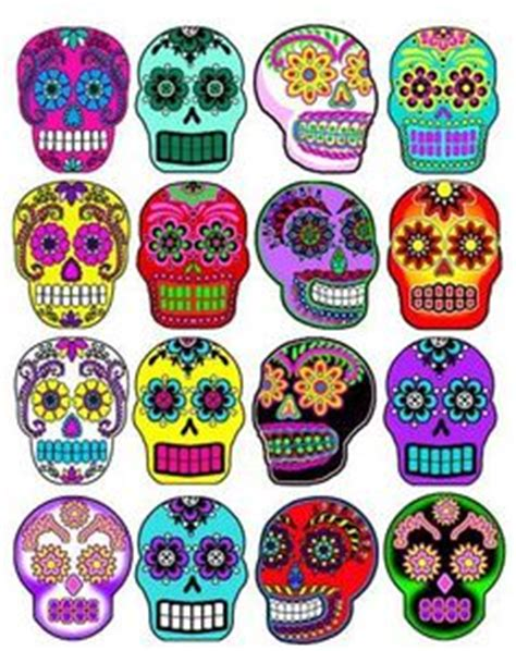rivera 16 art stickers 0486415694 folk art print mexican day of the dead kitchen wall decor