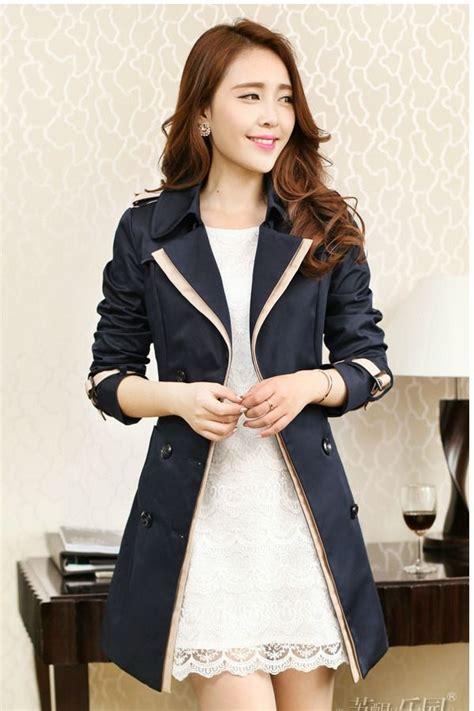 Jfk Jaket Wanita Korea Roundhand Jaket Navy jaket wanita korea navy blazer jyr30004navy