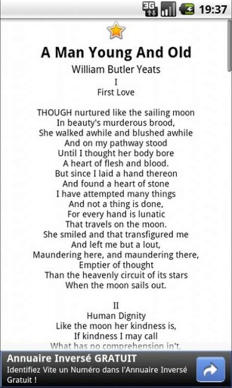 wb themes literature download william butler yeats poetry for android appszoom
