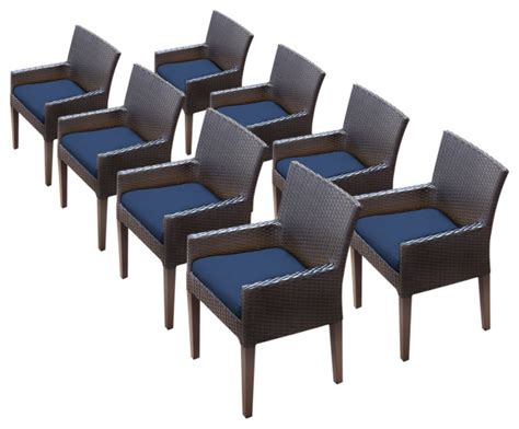 napa dining chairs  arms tropical outdoor dining