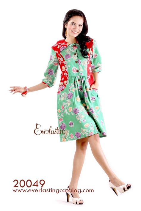 Fzn3169 Kemeja Batik Zigzag Tenun Green 20049 graphis green dress http www everlastingcatalog
