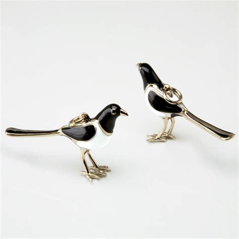 design bespoke magpie charm designed by stephen einhorn