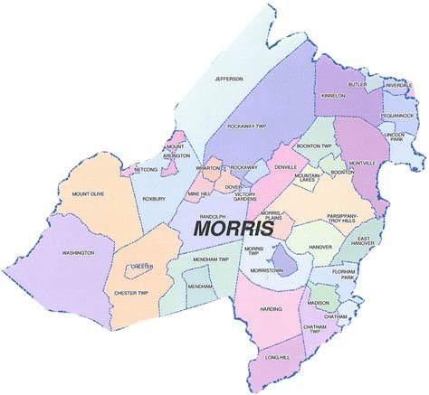 Morris County Records Morris County Map My