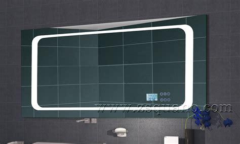 Miroir Salle De Bain Bluetooth 5437 intelligent mp3 salle de bains miroir avec led lumi 232 re et