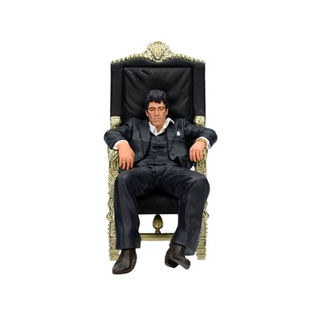 poltrona scarface scarface tony montana in his chair fig master of the