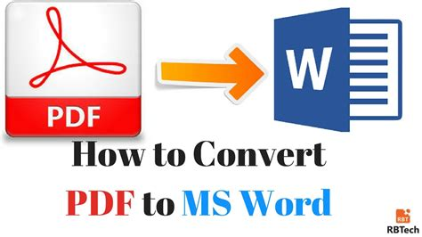 convert pdf to word offline how to convert easily pdf to ms word online offline free