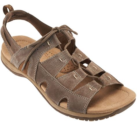 Sendal Wedges Pnc 1 earth origins suede lace up sport sandals sassy page 1 qvc