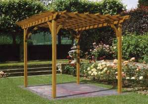 Wood Pergolas by How To Select From The Various Types Of Wooden Pergola