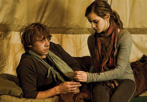bathroom seks 7 reasons why ron and hermione should have ended up