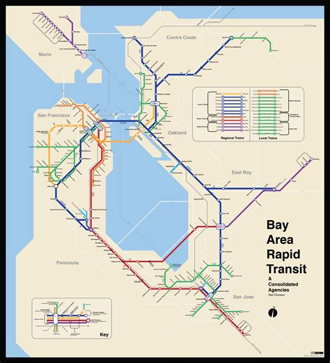 bart station map bay area 2050 the bart metro map future travel