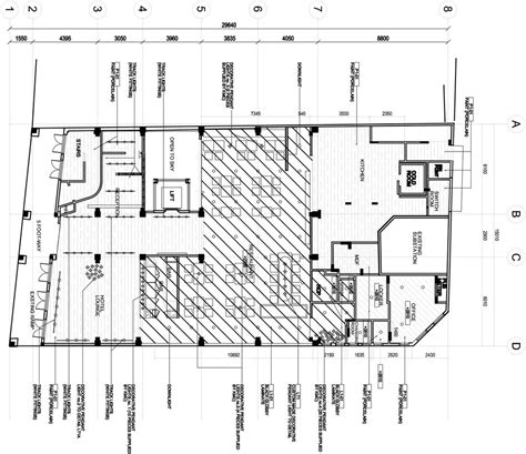 Hotel Kitchen Layout Drawings by Wanderlust Hotel Level 1 Reception Restaurant