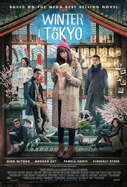 Novel Ilana Winter In Tokyo winter in tokyo tilkan bowie dion wiyoko dan oey di poster terbaru